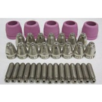 60AMP CONSUMABLES 35 PIECE SET