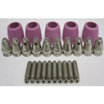 60AMP CONSUMABLES 25 PIECE SET